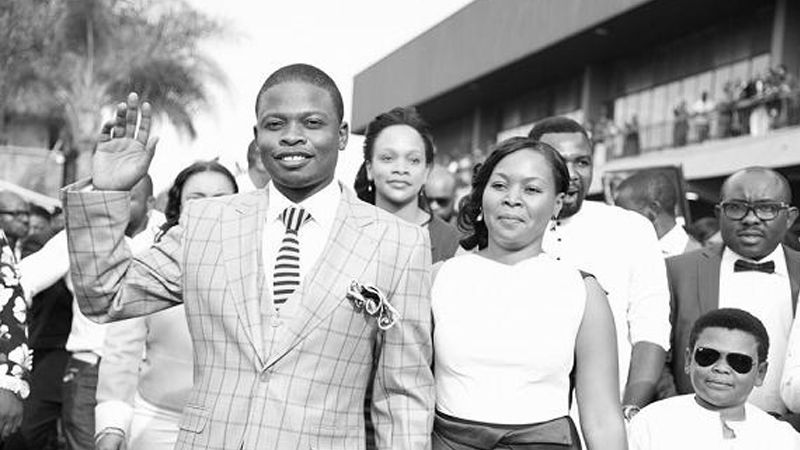 Son of God Prophet Shepherd Bushiri's grand entry into Nigeria